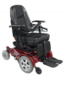Silla de ruedas eléctrica Invacare